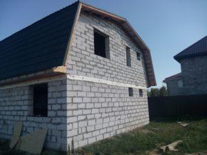 Дом одноэтажный из газоблока